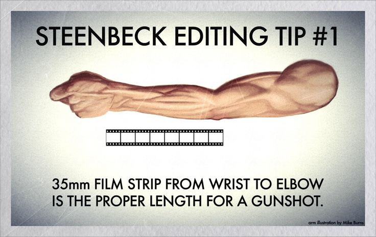 Old school film editing tip on a Steenbeck