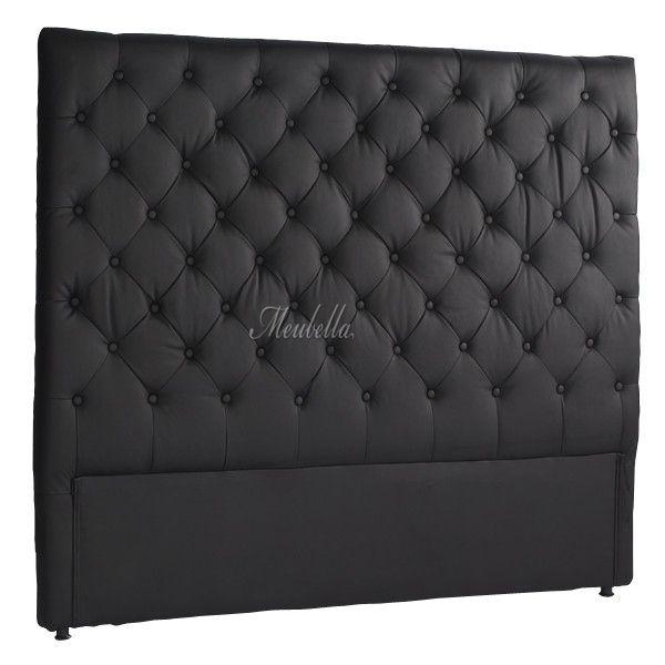 25 beste idee n over zwarte bedden op pinterest zwarte slaapkamers zwarte slaapkamer decor - Groen hoofdbord ...