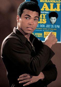 Muhammad Ali.  That's me!