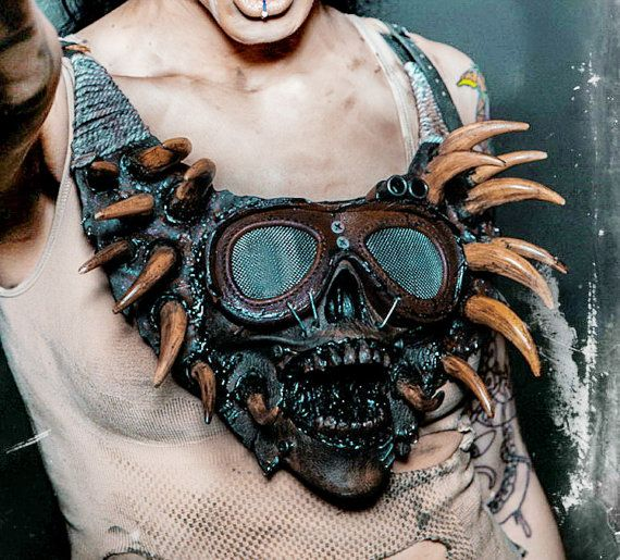 Halloween, leather necklace, Halloween costume, Halloween decor, Halloween…