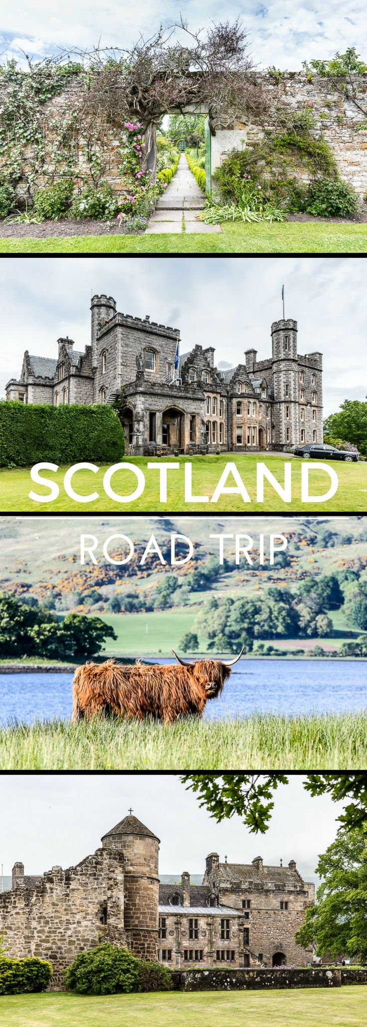 A lovely Scotland road trip itinerary, from east to west.