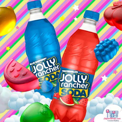 NOVEDAD en @JaponShop !! Sodas Sabor Gominolas de Sandía o de Frambuesa | Jolly Rancher! GO http://www.japonshop.com/producto/soda_sabor_gominola_de_frambuesa_jolly_rancher