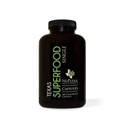 Raw Organic Texas Super Food Dr Black 180 Capsule Nutritional Supplement Health #Nuplexa