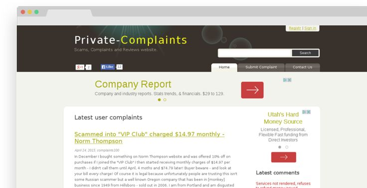 Being listed on site like Private-complaints.com can destroy your personal life, business & REPUTATION. We have a ready-made solution to delete that link.