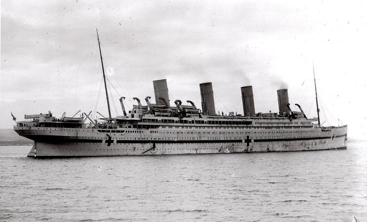 HMHS Britannic: The... other Titanic, sunk on 21 November 1916, in Greece