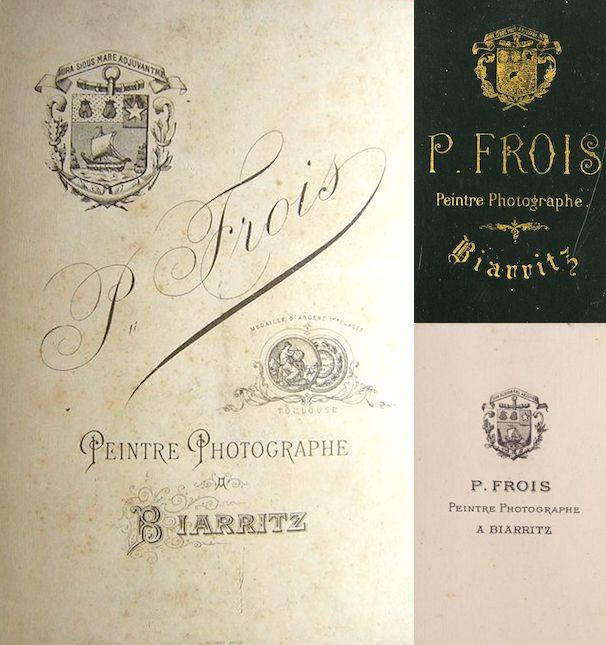 P. FROIS (3 versions) - Biarritz, Pyrénées-Atlantiques