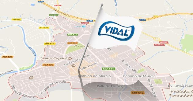 Con una inversión de 20 millones de euros, el nuevo centro logístico de Vidal Golosinas, que se instalará en la localidad murciana de Cieza.