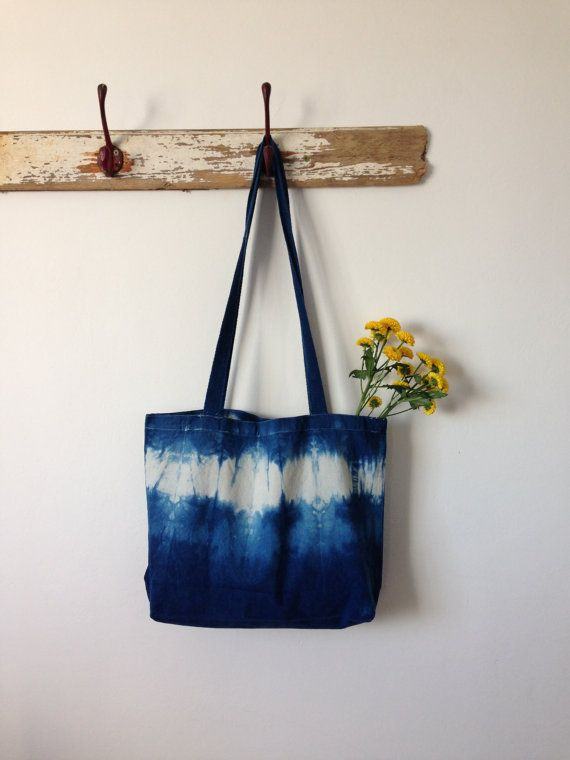 Shibori hand bags puckered shibori bag japanese by Indigowares