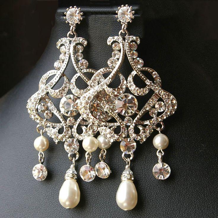 17 Best ideas about Bridal Chandelier Earrings – Vintage Chandelier Earrings
