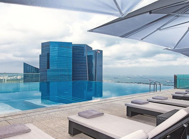 swim in the clouds ☁️ at the rooftoo pool of the Westin Singapore . Amazing views included. Want to reserve hotel pools on the go? home or travelling? we're building the app, sign up in bio ☝️& get access to amazing hotel wellness & fitness facilities without the overnight stay. pic by  @westin @thewestinsingapore #rooftoppool #infinitypool #singapore #poolday #luxurytravel #hotellife #swim #relax #unwind #thursdayfun #startup #wellness #workout #fitness
