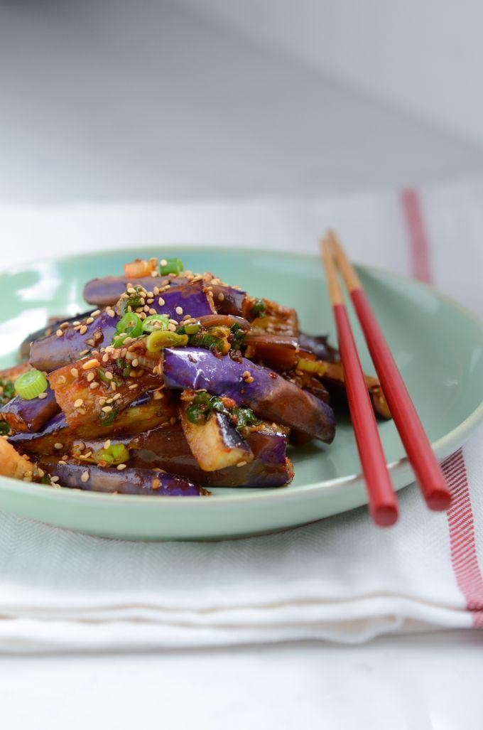 How to make Korean Eggplant Side Dish
