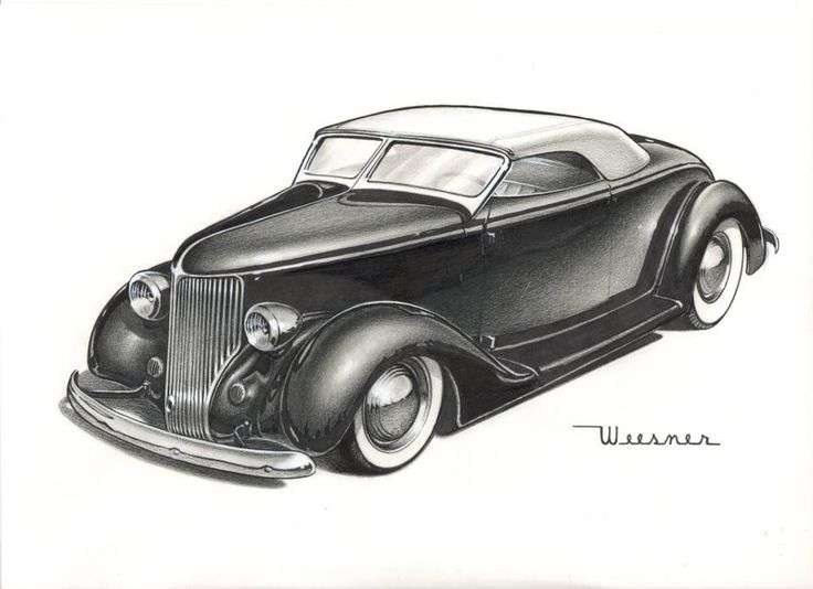 48 best old car drawings images on Pinterest | Car drawings ...