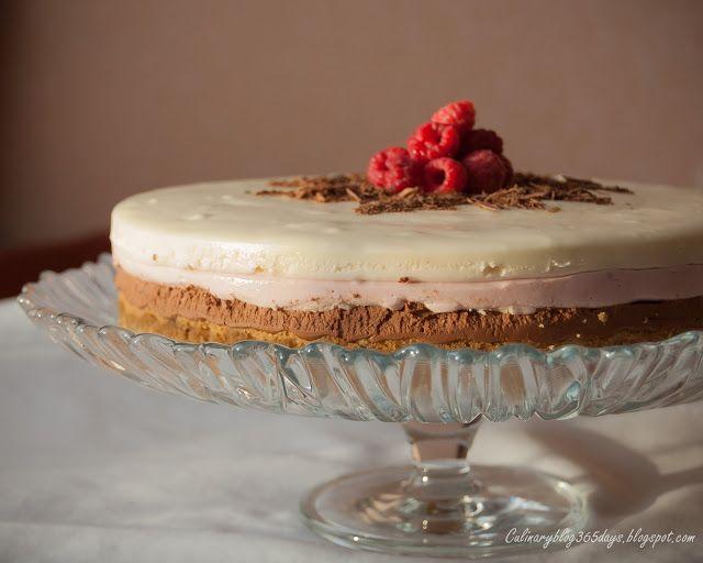 Кулинарный блог 365 дней: Шоколадно-малиновый чизкейк