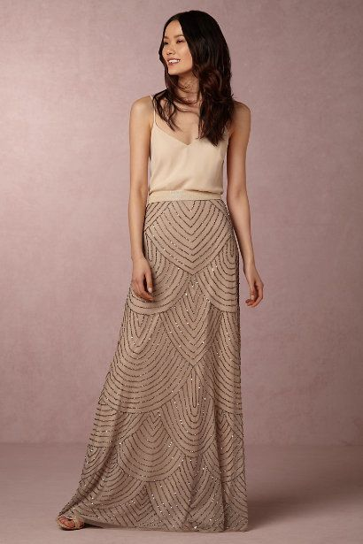 BHLDN Breanna Skirt in Bridesmaids Bridesmaid Separates at BHLDN