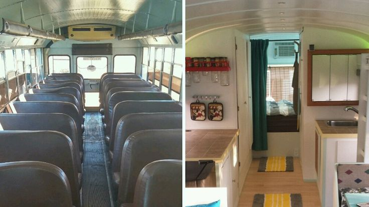 Patrick Schmidt and his dad turned an old school bus into a mobile home, and took it on an epic road trip through 30 states.