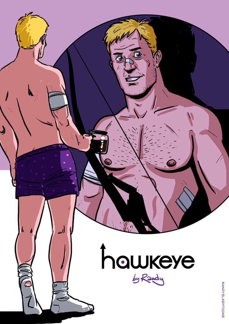 Hawkeye single gay men