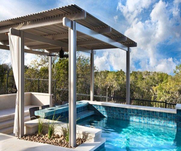 Pergola Over the Pool A Wonderful Choice | Pergolas, Pool shade ...