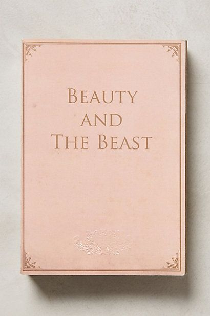 beauty and the beast storybook journal #anthrofave http://rstyle.me/n/ueeumr9te