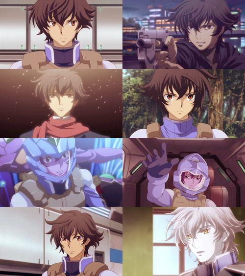 Setsuna F.Seiei Gundam Meister (Mobile suit Gundam 00) // I love you so much u don't know