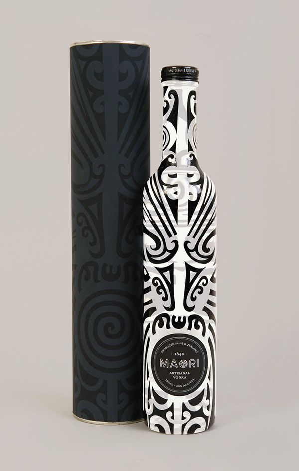 Maori Liquor packaging designnew zealand
