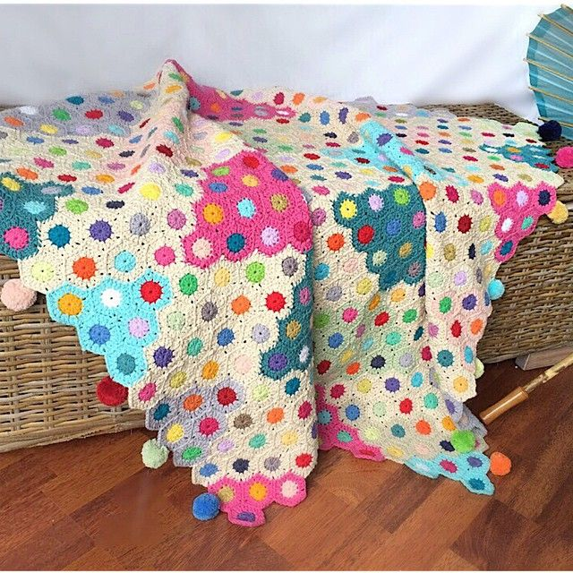 Confetto Ffertig: 474 Best Crochet Blankets Images On Pinterest