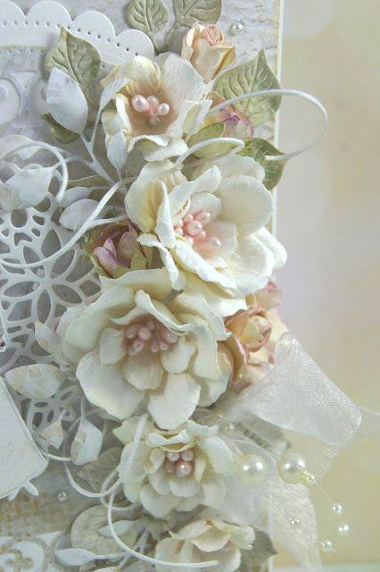 Kartkowy Świat Gosi: Ślubna w magnoliach ;)