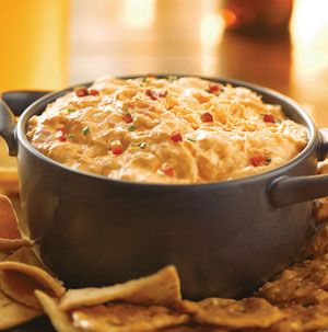 Having people over to watch the game? Throw everything you need for Frank's RedHot Buffalo Chicken Dip in the slow cooker before the game starts, so you won't miss a minute of the action.