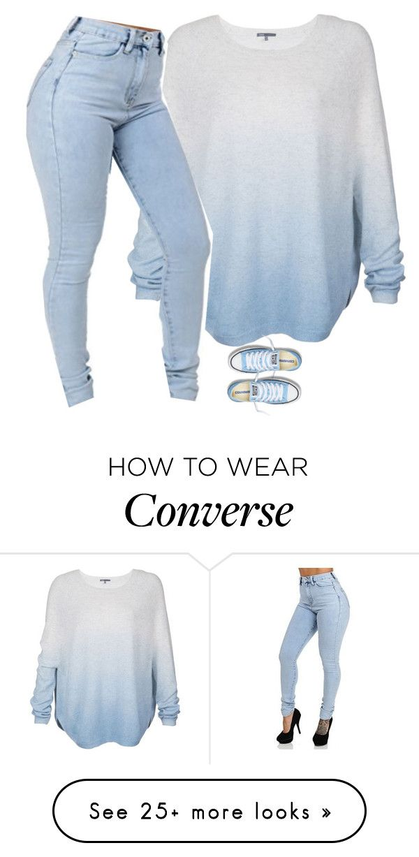 """Untitled #750"" by prettygirlnunu on Polyvore featuring Vince and Converse Pinterest: @taylorxvx"