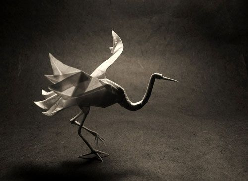 origami/real crane