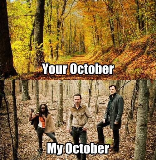 The Walking Dead is almost back!!!!!
