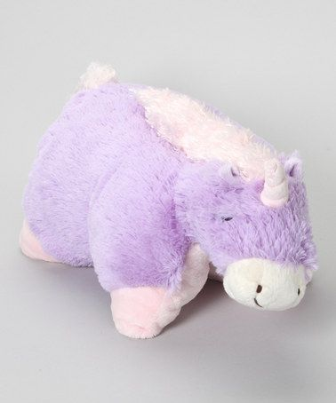 Take a look at this Magical Unicorn Pillow Pet by Pillow Pets on #zulily today! $10 !!