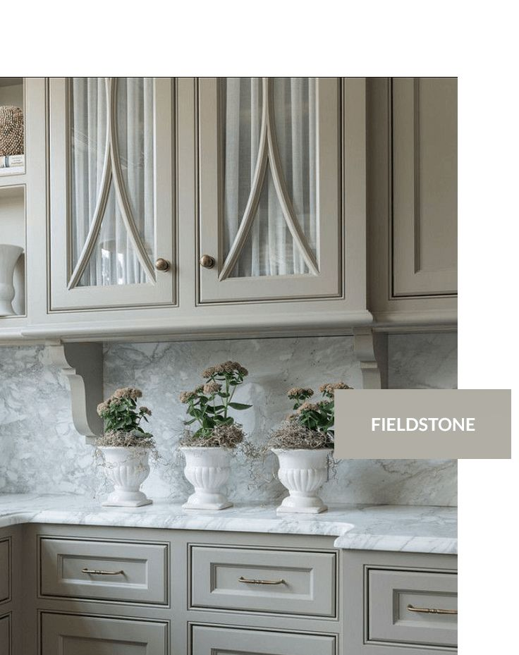 Paint Color For The Island   Benjamin Moore Fieldstone · Painted Kitchen  CabinetsPainting ...