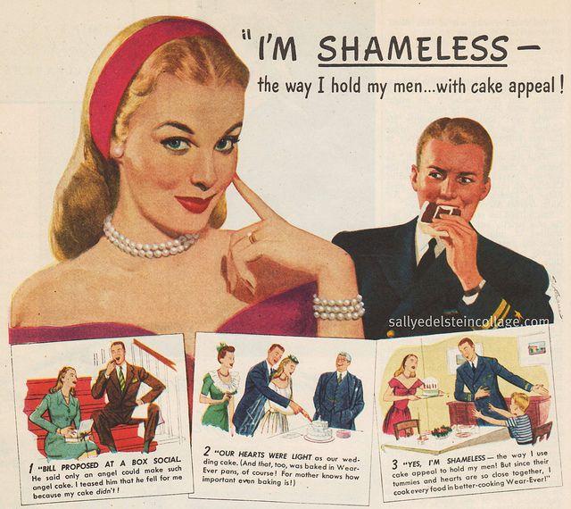 Cake Appeal 1946 Wear Ever Aluminum Utensils Ads.