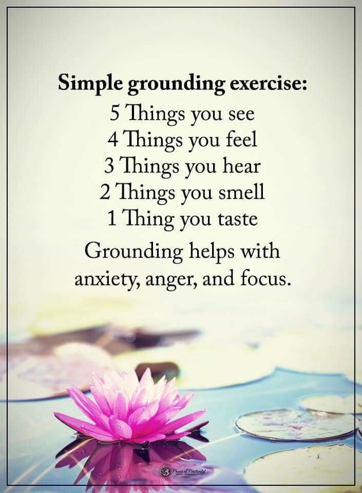 Simplr grounding exercise: 5 things you see 4 things you ...