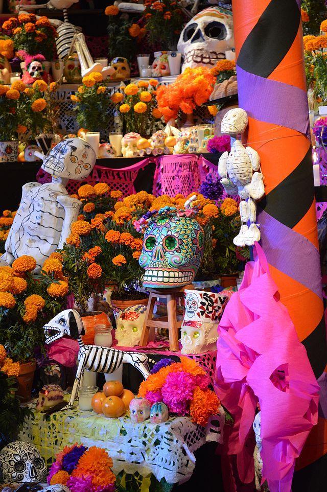 Jour Des Morts (mexique) : morts, (mexique), Détail, Autel, Morts., Morts,, Morts, Mexique,, Fête