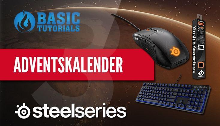 #Adventskalender: SteelSeries Apex M500 Tastatur #Gewinnspiel