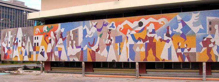Carlos Mérida Mural-Contemporary of Rivera
