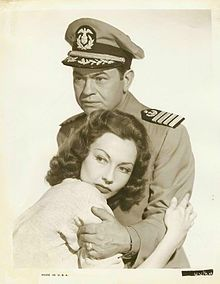 Edward G. Robinson and Bari in Tampico (1944)