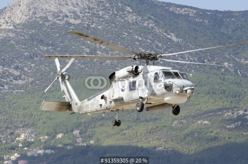 """""""Black hawk sikorky going for landing"""" Stock photo and royalty-free images on Fotolia.com - Pic 91359305"""