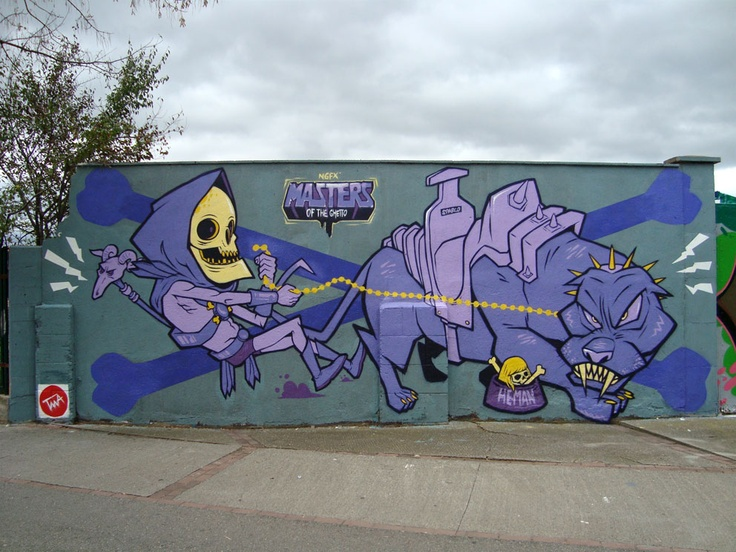 Masters of the Ghetto by Bisual & Bazak