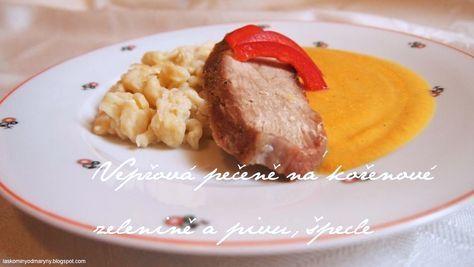 Recept na tuto pečeni jsem si přivezla před mnoha lety z Bavorska, kde jsem nějaký čas žila. Dělali jsme jej tam celkem často, buď z ve...