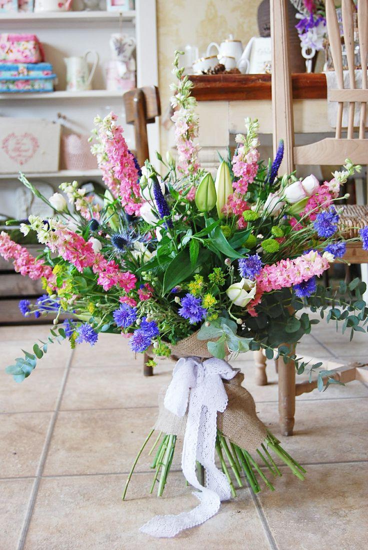 Summer Garden Bouquet Bolton LancashireWedding