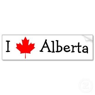 I love Alberta, Canada