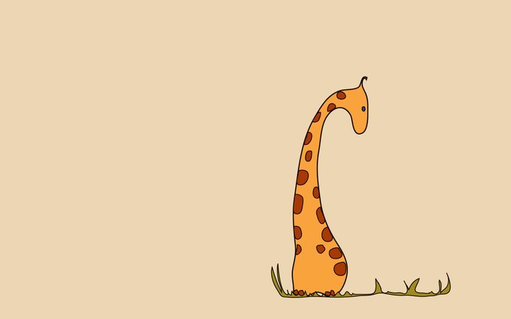 Cute Giraffe Drawing Tumblr Giraffe wallpaper - animal ...