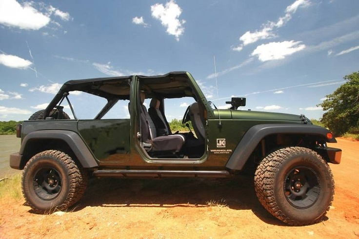 No Front W Rear Half Doors Photoshoped Jeep Wrangler