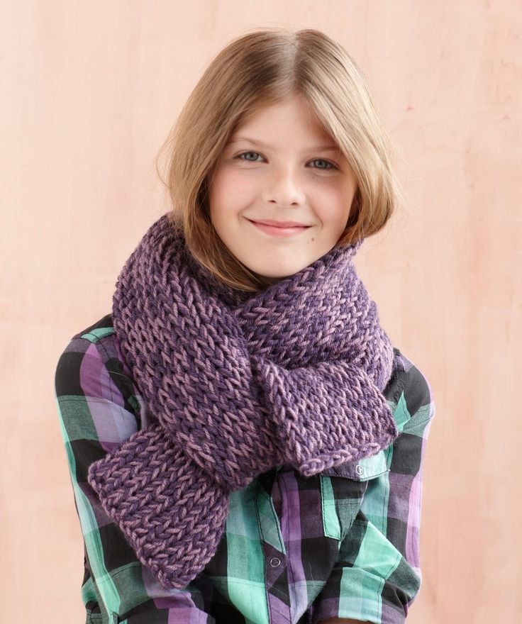 Loom Double Knit 2 Ball Scarf