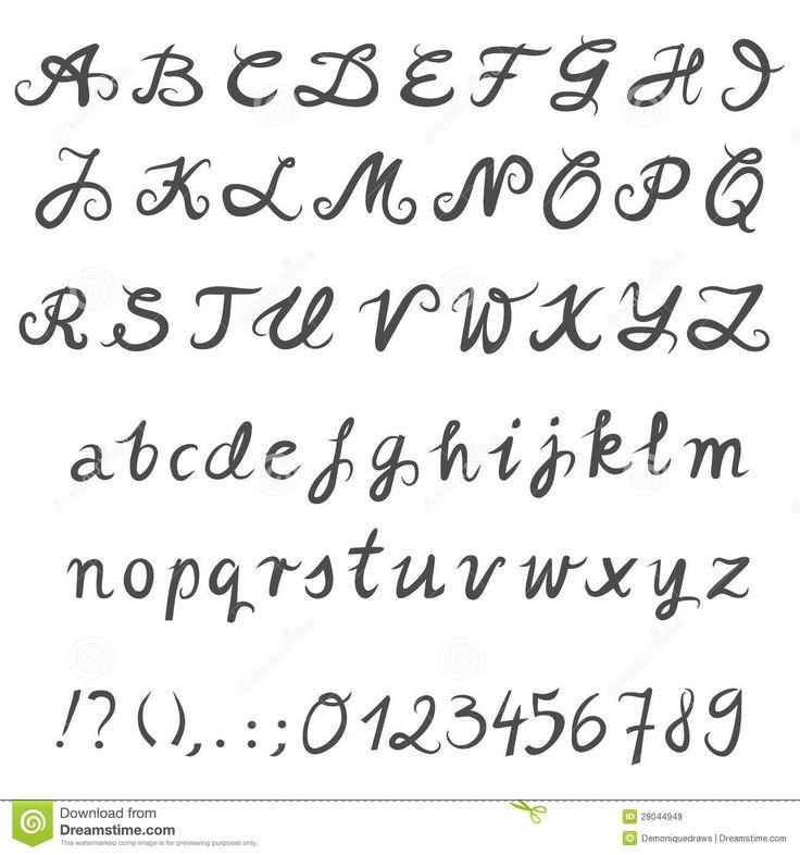 25 Melhores Ideias Sobre Letras Desenhados Mo No Pinterest Tipografia Desenhada