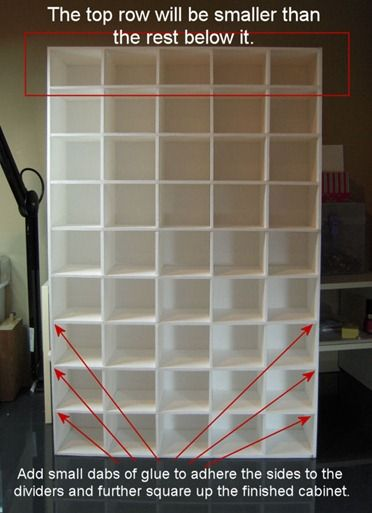 DIY Storage made from foam board - a tutorial @ paper-castle. I want to enlarge it and make a custom shoe holder.