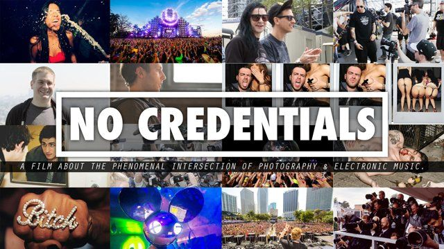 No Credentials is a film about the phenomenal intersection of photography and electronic music. We've spent the last few years documenting electronic dance culture and we felt it was time to pull the curtain back on the entire scene in an unprecedented way.  facebook.com/CRUZANDJACOB twitter.com/cruzandjacob