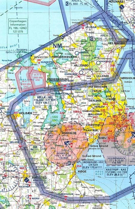 ICAO-Karte Dänemark